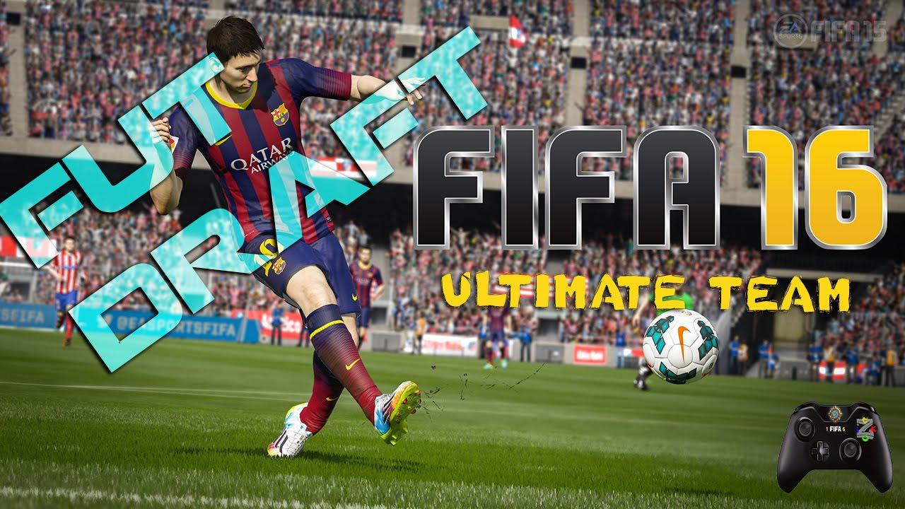 Fifa 16 Fut Draft Messi E Lewandowski All 39 Attacco Youtube