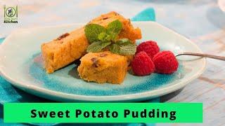 How to Make Sweet Potato Pudding I Vegan