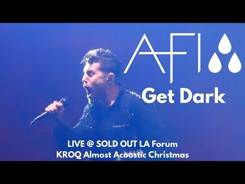 AFI - Get Dark (LIVE Debut) @ KROQ Almost Acoustic Christmas 2018 LA Forum 12/8/18 Mp3