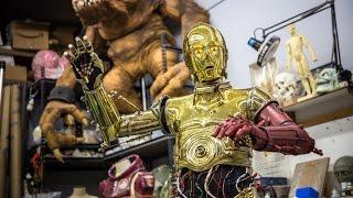 Meet Gordon Tarpley, C-3PO Suit Builder!
