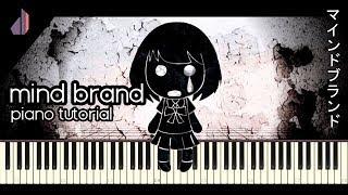 Mind Brand // マインドブランド (Miku) [MARETU] | Synthesia Piano Tutorial