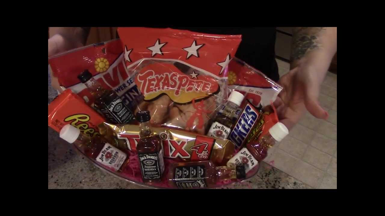 Goodie Basket For Your Man Valentines Day