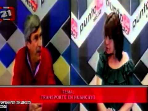 Entrevista al presidente de la CCH sobre fotopapeletas en la carretera central
