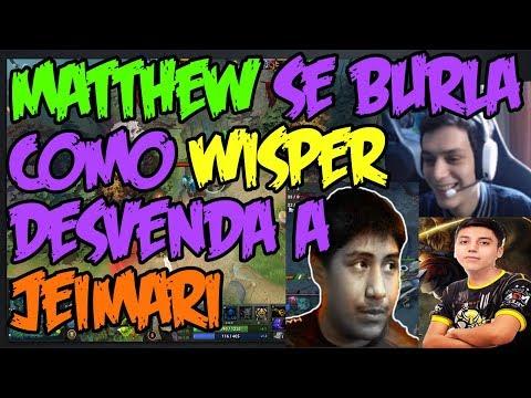 MATTHEW SE BURLA COMO WISPER DESVENDA A JEIMARI -  RESPONDE PREGUNTAS!!!