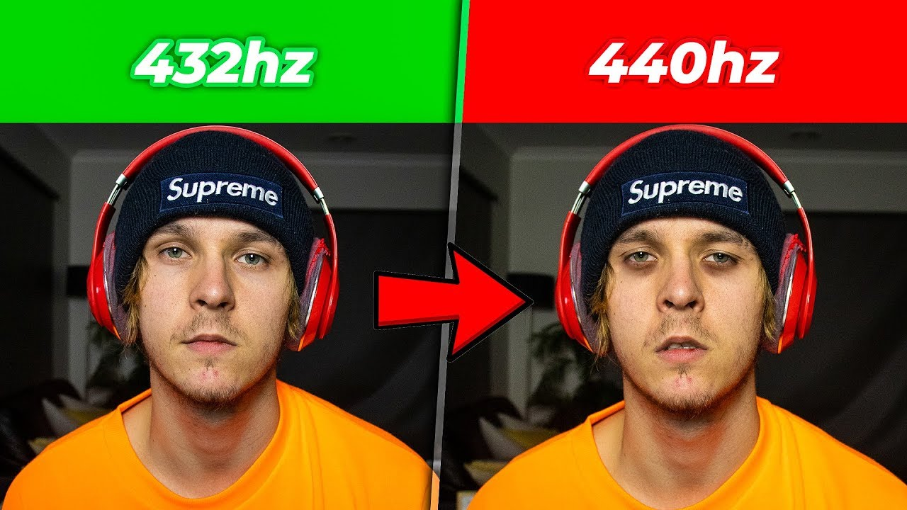 LISTENING TO MUSIC AT 432Hz VS 440Hz (XXXTENTACION SECRET)