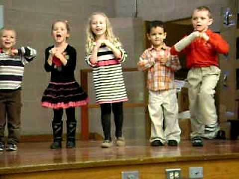 """Preschool & Kindergarten SPPS CSW 2011 """"I Believe"""""""