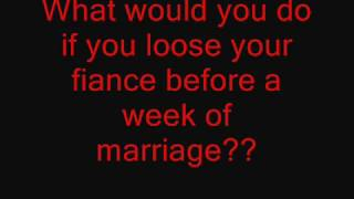 What you would do if you lose your fiance a week before marriage?? caught on tape