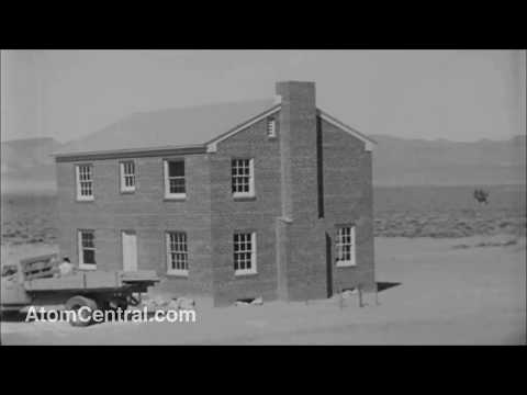 Operation Teapot 1955 Apple 2 Atomic Bomb Test With Real Explosion Sounds
