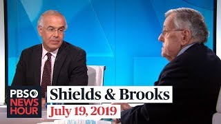 Shields and Brooks on Trump's attacks, Biden vs. Sanders on health care