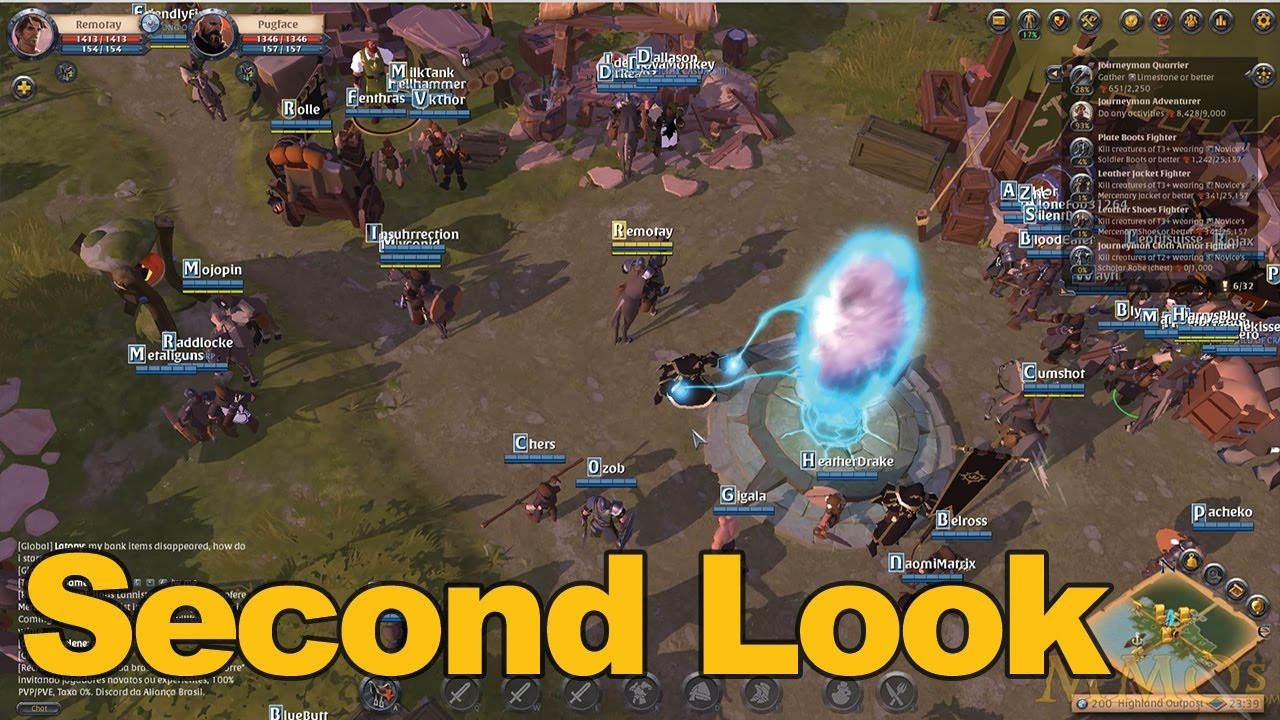 Albion Online Gameplay Second Look - MMOs.com