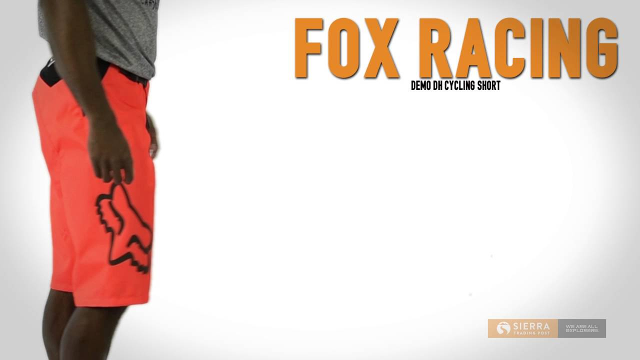 Fox Racing Demo DH Mountain Bike Shorts (For Men) - YouTube 1e046c390