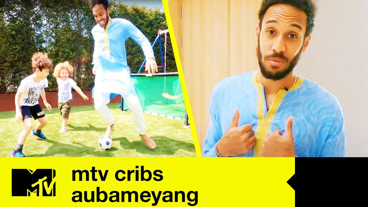 Download EP#2 FIRST LOOK: Arsenal Star Aubameyang's Amazing Crib | MTV Cribs: Footballers Stay Home