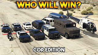 GTA 5 : TUG OF WAR COP EDITION (WHO WILL WIN?)