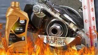 Eurol Fluence FE 5W30 Jak skutecznie olej chroni silnik? 100°C