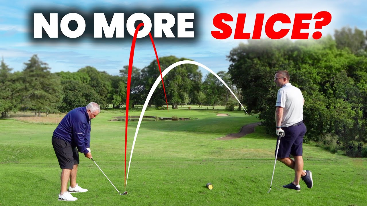 GOLFER FIXED HIS SLICE WITH NEW METHOD?