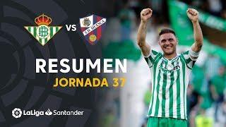 Resumen de Real Betis vs SD Huesca (2-1)