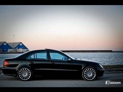 mercedes benz e320 cdi carlsson exhaust system youtube. Black Bedroom Furniture Sets. Home Design Ideas