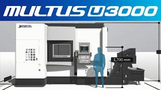3d machine view/intelligent multitasking machine multus u3000【okuma corporation japan】