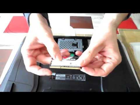 tuto installer les barrettes m moires ram sur un pc portable asus g751 youtube. Black Bedroom Furniture Sets. Home Design Ideas