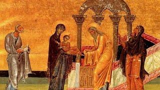 Сретение Господне - Катавасии - глас 3