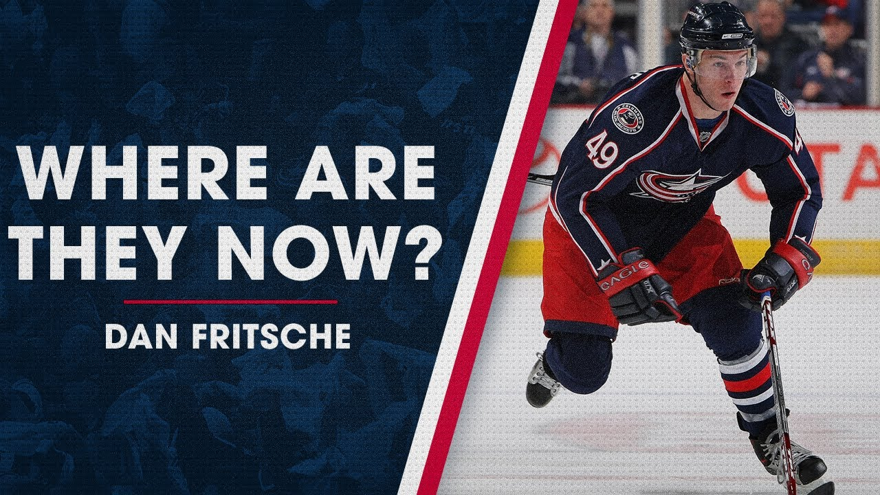 What's Dan Fritsche been up to since playing with the Jackets?