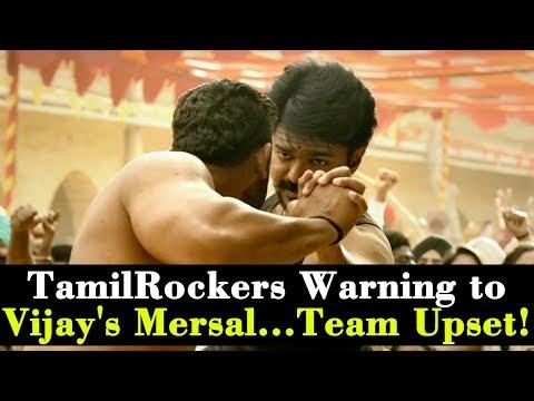 TamilRockers Warning to Vijay's Mersal......
