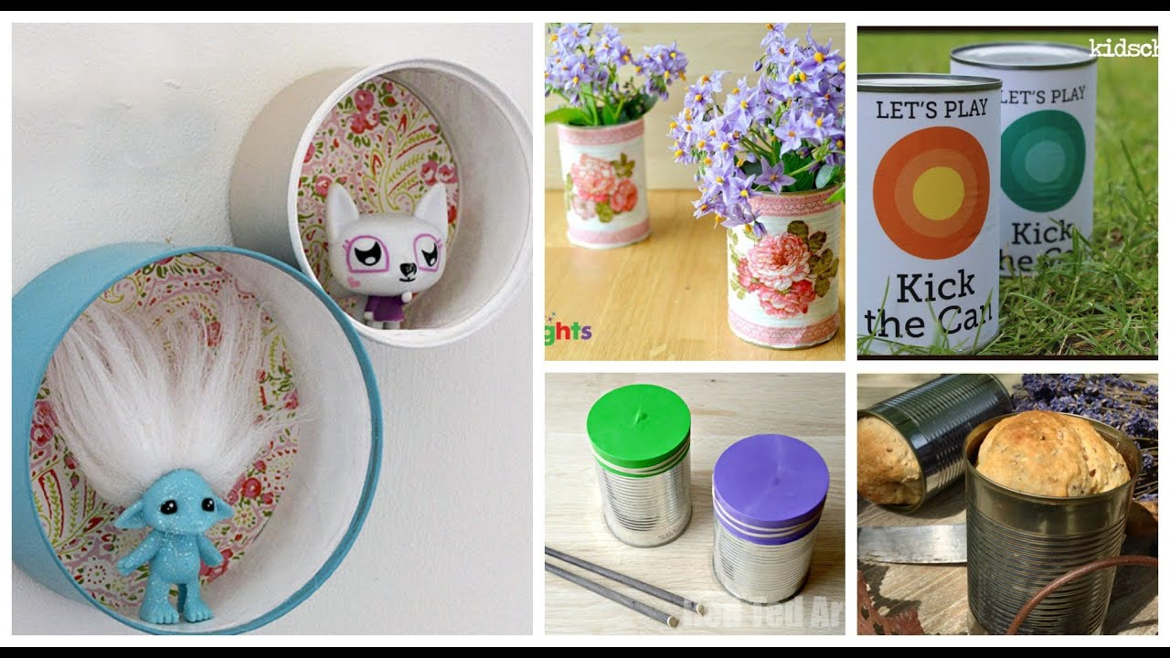 Tin cans for crafts - Tin Can Crafts