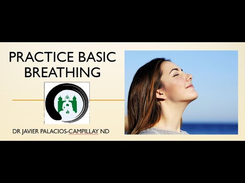 Practice Basic Breathing | Naturopathic Medicine | Online Naturopathic Doctor