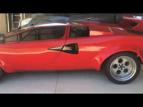 Lamborghini Countach Replica Perth Australia , YouTube