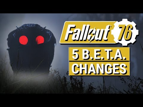 FALLOUT 76: Top 5 Big Changes To IMPROVE Fallout 76!! (Final B.E.T.A. Thoughts and Feedback)