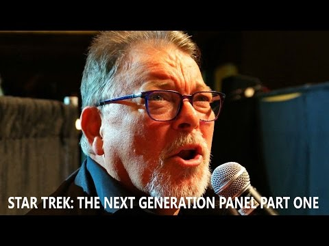 Jonathan Frakes, Marina Sirtis and Michael Dorn  Star Trek: TNG Panel Part 1  August 6, 2016