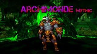 Fusion Archimonde Mythic. Warlock PoV.