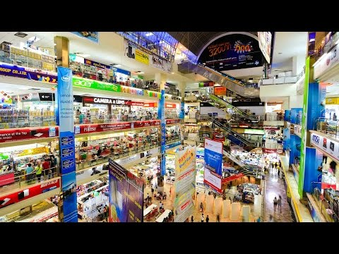 Pantip Plaza IT Electronics Shopping Mall In Bangkok Thailand