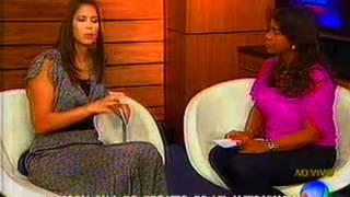 Vereadora Tia Eron na TV Itapoan fala sobre a Lei Antibaixaria