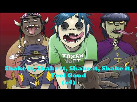 Gorillaz: Feel Good Inc (lyrics) My slideshow