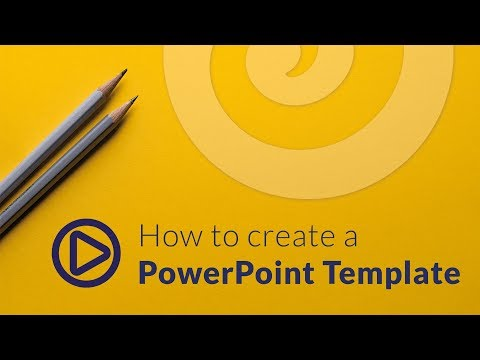 How To Create A PowerPoint Template (2019)