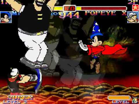 Mickey Mouse EX - Downloads - The MUGEN ARCHIVE