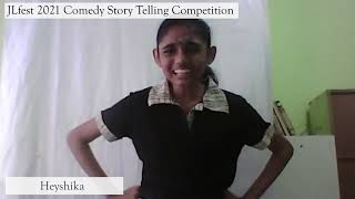 3rd Prize Winner:   Heyshika A/P Krishna Kumar (MGS, Klang)