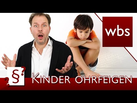 Darf Ich Mein Kind Ohrfeigen? | Rechtsanwalt Christian Solmecke