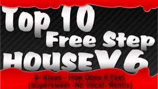 Top 10 Musicas - Free Step House v6