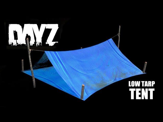 Small Makeshift Tent DayZ Standalone