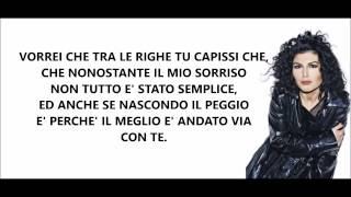 Giusy Ferreri - Ti Porto A Cena Con Me - Testo