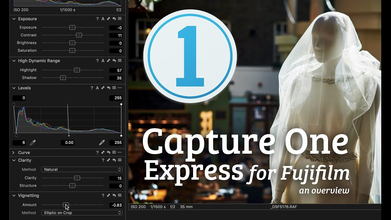 Capture One Express Fujifilm An Overview Youtube
