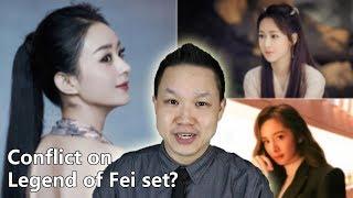 Yang Mi and Bai Yu new drama, Yang Zi or Kris Wu for top billing, a rift on Legend of Fei?