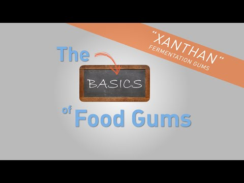 Xanthan The Basics of Food Gums