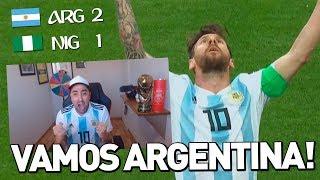 ARGENTINA 2 Vs 1 NIGERIA | MUNDIAL RUSIA 2018 | REACCIÓN DEL PARTIDO