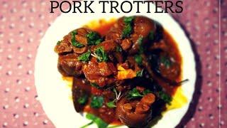Sungur ko khutta ko achar   Nepali style   Pork trotters   Khutta ko achaar #yummyfood #nepalikhana