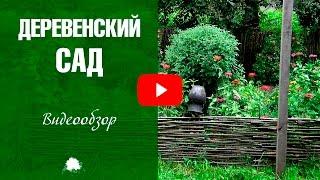 Сад в деревенском стиле ✅ Ландшафтный дизайн с HitsadTV