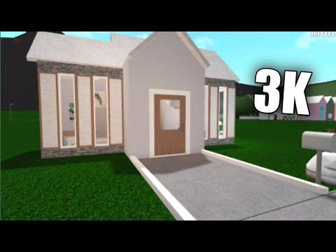 Bloxburg Small 3k House House Build Youtube
