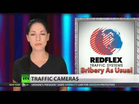 Redflex bribing cities to install surveillance cameras